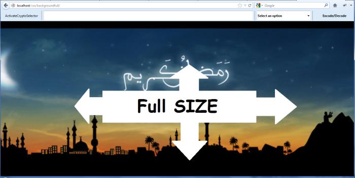 Membuat Background Full Screen dengan CSS 3 | Jamal Apriadi